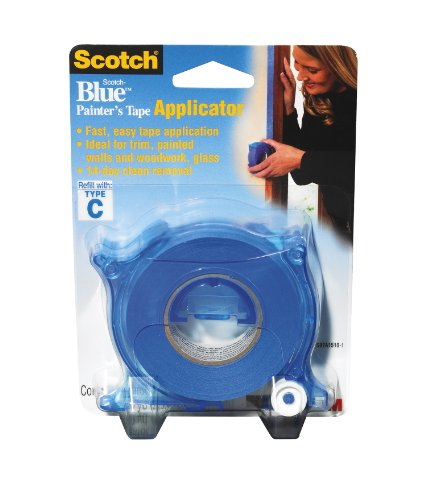3M ScotchBlue Tape Applicator, 1-Inch by 30-Yard (Pre Mask Tape Applicator)