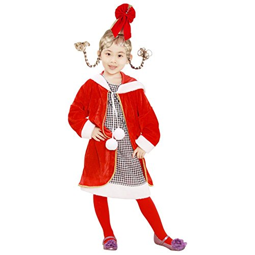 Child Cindy Loo Who Costumee (Size: Medium 7-10)