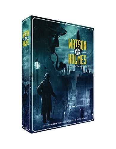 221b Baker Street Game - Watson & Holmes