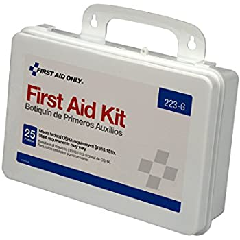 Pac-Kit by First Aid Only Bulk First Aid Kit with Gasket