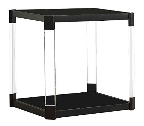 Homelegance Mehta End Table, Black