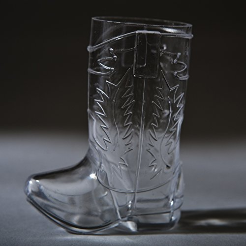 Cowboy Boot Shot Glasses package product image