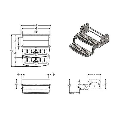 Stromberg Carlson SMFP-2100 Manual Coach Steps by Flexco - 24