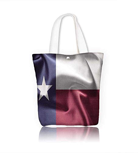 Women's Canvas Tote Handbags Texas Casual Top Handle Bag Crossbody Shoulder Bag Purse W22xH15.7xD7 INCH