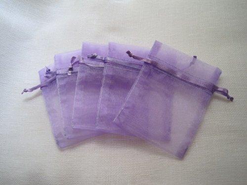 MyCraftSupplies Premium Organza 30 Pack Lavender