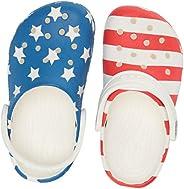 Crocs Kids' Classic American Flag Clog | 4th of July S