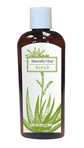 (Metabolic Maintenance Naturally Clear Facial Scrub - Walnut Shell Scrub for Blemish Prone Skin (6)