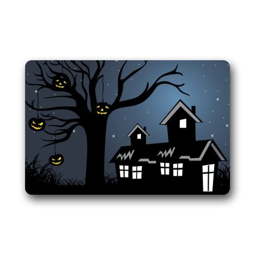 Halloween Doormats/Decorations/ Pumpkins House Durable Machine-washable Indoor/outdoor Door Mat 23.6