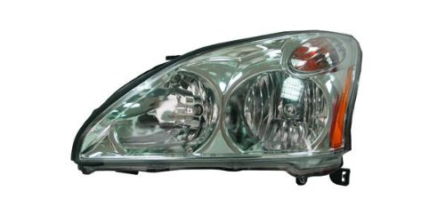 OE Replacement Lexus RX330 Driver Side Headlight Assembly Composite (Partslink Number LX2502123) (Lexus Rx330 Headlight Replacement)