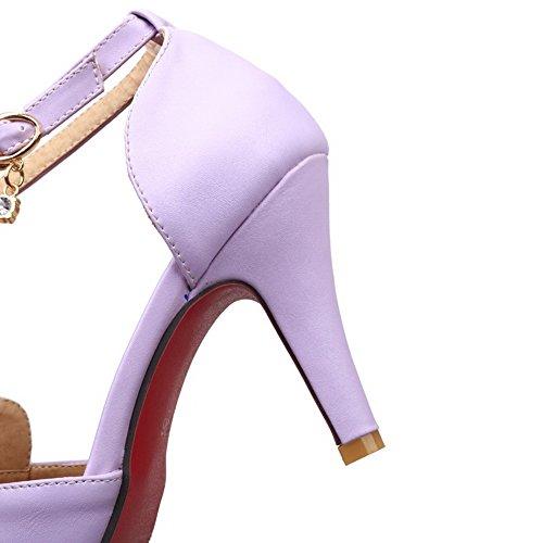 Femme Violet BalaMasa 36 ASL05518 5 Sandales Violet EU Compensées qBqISv4t