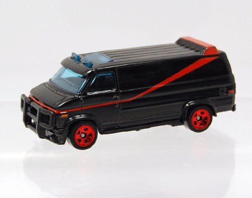Hot Wheels The A-Team Van GMC 2011 nuevos modelos die-cast escala 1:64 por Hotwheels