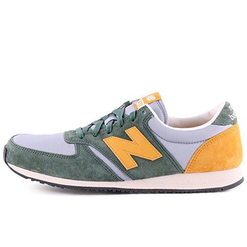 New Balance 420 Herren Sneaker Grün grün grau gelb