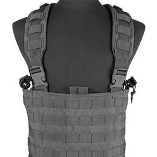 Condor MCR4 - Operator MOLLE Chest Rig, Black (Condor Modular Chest Rig compare prices)