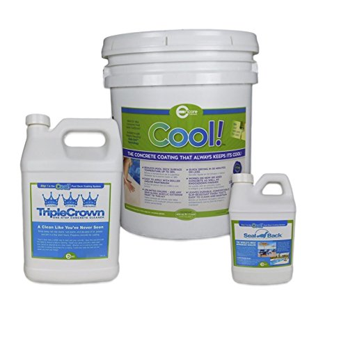 (Cool Pool Deck Coating - 200 sq. ft. Bundle)