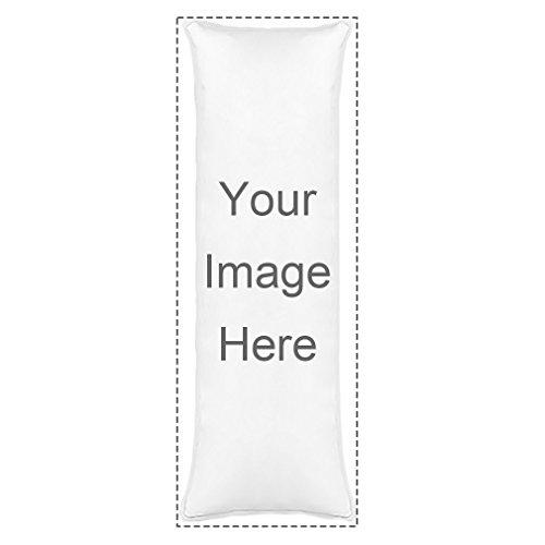 Design Image or text Double Print Pillow Cover Custom Personalized 21' x 60' Body Pillow Case Dakimakura Body Pillowcase