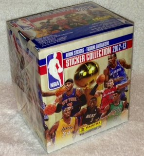 2012-13 Official Panini NBA Sticker Collection - 50 Sticker Packets Per Box (7 Stickers Per Pack) by PANINI