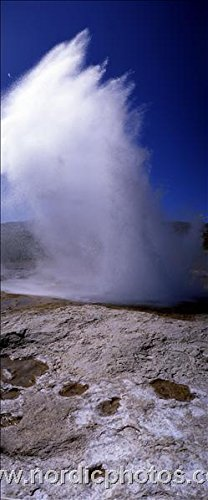 A geyser erupting, Iceland 30x40 photo reprint by PickYourImage