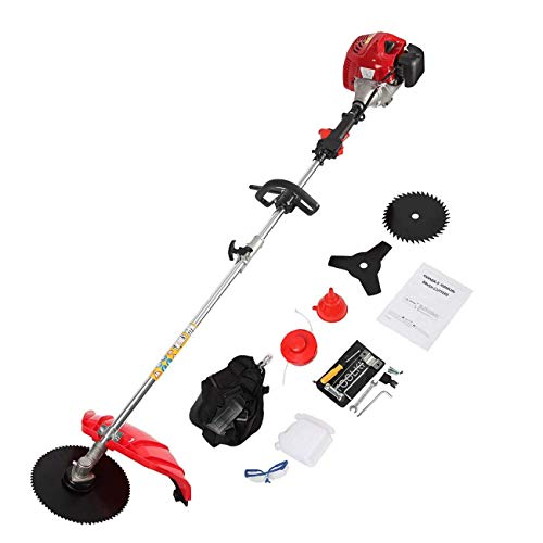 BEAMNOVA 4-in-1 Weed Wacker Gas Powered Grass Trimmer Lawn String Trimmer Brush Cutter Lawn Edger