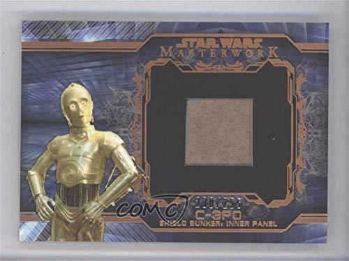 C-3PO, Shield Bunker, Inner Panel #230/255 (Trading Card) 2015 Topps Star Wars Masterwork - Return of the Jedi Bunker Relics - Bronze #CSBIP