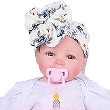 Tenworld Babys Hairband Turban Bowknot Headwrap Headband Newborn Photography Props
