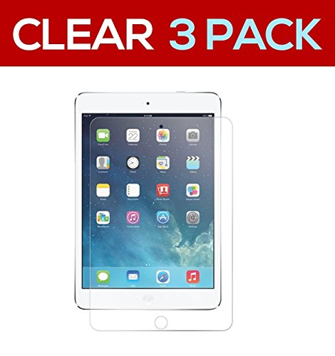 3 Pack Clear Screen - eTECH Collection 3 Pack of Crystal Clear Screen Protector for Apple iPad mini4 with Retina Display (iPad Mini 4th Generation) AT&T, T-Mobile, Sprint, Verizon -- Shipping From USA!!