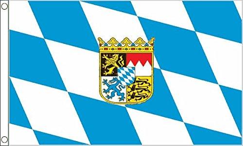 - Bavaria Crest Small Flag 3Ft X 2Ft Bavarian Oktoberfest German Beer Festival by Bavaria Crest