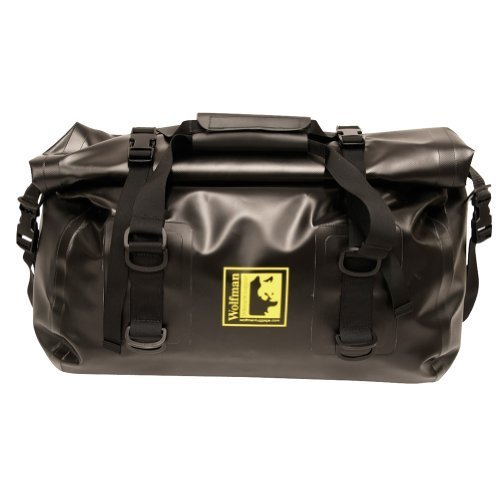 Wolfman Luggage EX803 - Expedition Dry Duffle Medium Black