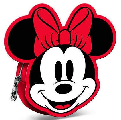 Monedero de Minnie Disney 3D, 11 cm: Amazon.es: Equipaje