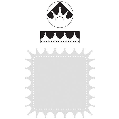 Punch Scrapbooking Scrapbooking Pages (Martha Stewart Martha Stewart Punch Around The Page Combo, Crown)