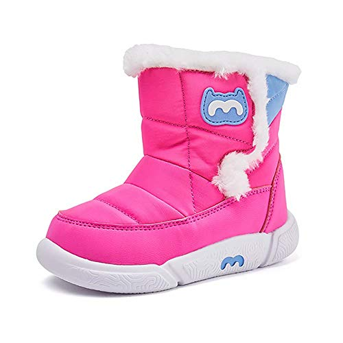 Price comparison product image BMCiTYBM Toddler Snow Boot Girl Boy Winter Waterproof OutdoorM18FW009n-rose-26