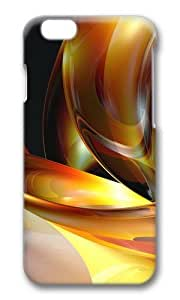 MOKSHOP Adorable 3D abstract designs 3 Hard Case Protective Shell Cell Phone Cover For Apple Iphone 6 Plus (5.5 Inch) - PC 3D