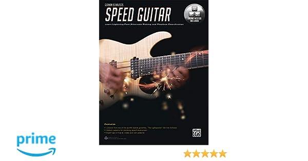 German Schausss Speed Guitar: Learn Lightning Fast Alternate Picking and Coordination, Book & Online Audio & Video: Amazon.es: German Schauss: Libros en ...