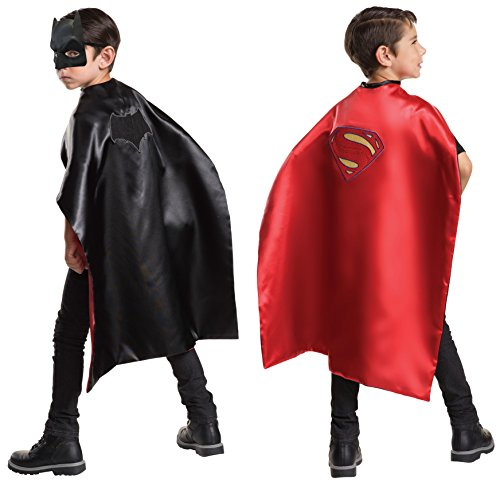 Imagine by Rubie's Batman V Superman: Dawn of Justice Batman & Superman Reversible Cape & Mask Set Costume]()