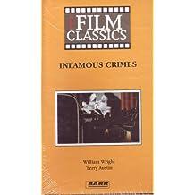 Infamous Crimes (Philo Vance Returns) [VHS Tape] (Video Film Classics)