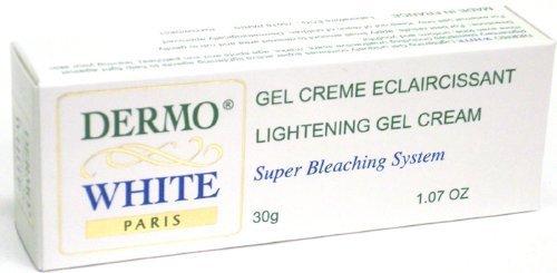 Dermo White Lightening Gel Cream Super Bleaching System 1.07 Oz.