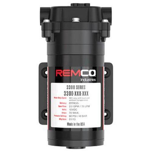 SMV INDUSTRIES 3323-1E1-82B-SB 2.0 GPM 12V Remco Pump