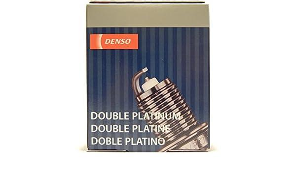 Amazon.com: 4 PCS *NEW* -- DENSO #3265 -- DOUBLE PLATINUM Spark Plugs -- PK22PR11: Automotive