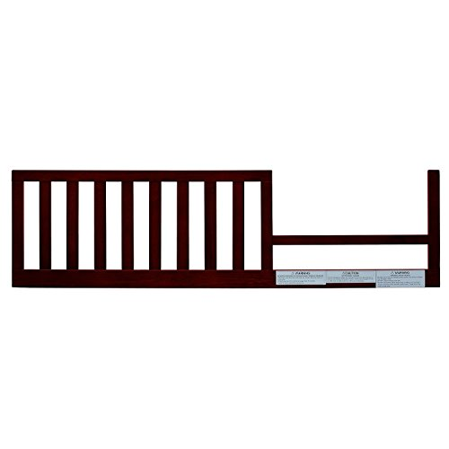 AFG Lia Convertible Crib Toddler Guardrail, Cherry, Lead and phthalate safe 100% sustainable New Zealand pine wood. - (Original from manufacturer - Bulk Discount available) by AFG