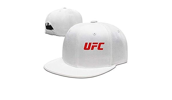 WefyLtesnhd Cap Hat UFC Red Logo Unisex Cool Snapback Hat Vintage ...