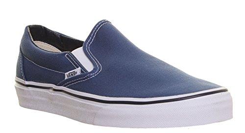 M1 Vans Damen Sportschuhe Sneaker Slip On Sneaker Dunkelblau