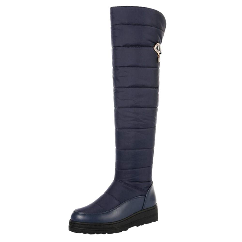 Foncircle Woman Shoes SWEATER Shoes レディース B07HSQK6B8 ブルー SWEATER Size(CN):37 ブルー ブルー Size(CN):37, LIFE COLLEZIONE:1819cf50 --- sharoshka.org