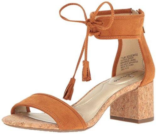 Bandolino Women's Semise Dress Sandal, Luggage, 9 M US
