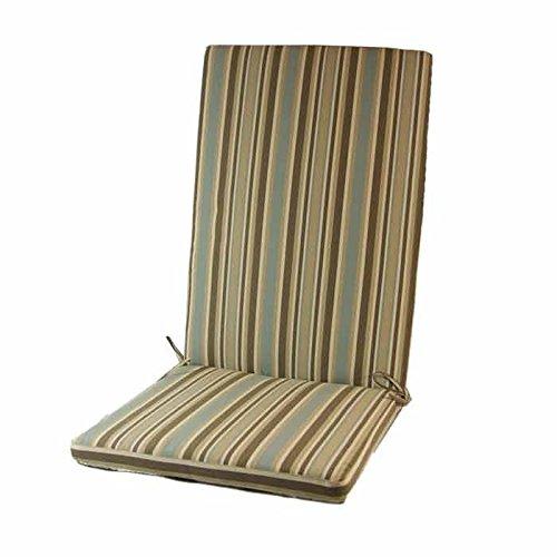 cojn posiciones lux para jardn estampado a rayas para sillones y sillas de exterior amazones jardn