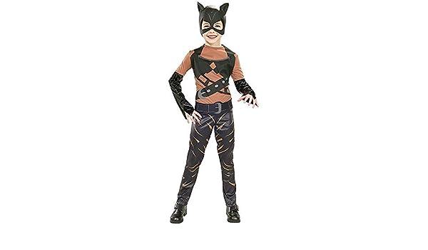 Rubbies - Disfraz de Catwoman para niño, talla M (8-10 años ...