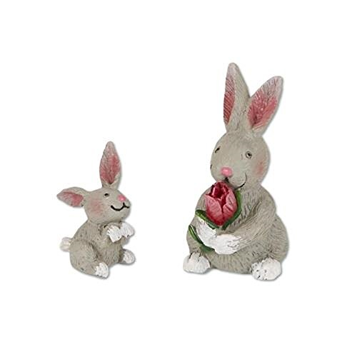 Studio M Merriment Mary Engelbreit Fairy Garden – Mini Rabbit Family Set For Sale