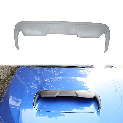 Compatible with 2015-2019 Subaru WRX STI Sedan Levorg Wagon Front Hood Bonnet Scoop Vent DTO Style Unpainted
