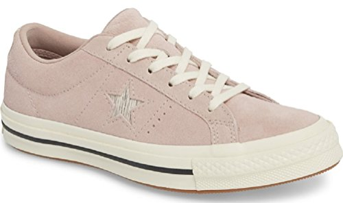 Converse Lifestyle One Star Ox, Sneakers Basses Mixte Adulte Multicolore (Diffused Taupe/Silver/Egret 055)