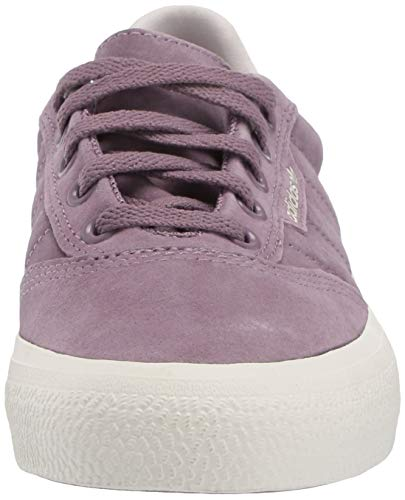 adidas Originals Men's 3MC Regular Fit Lifestyle Skate Inspired Sneakers Shoes, Legacy Purple/Chalk White/Gum, 4 M US