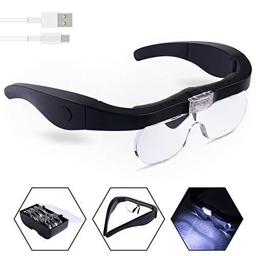 Head Magnifier Glasses with