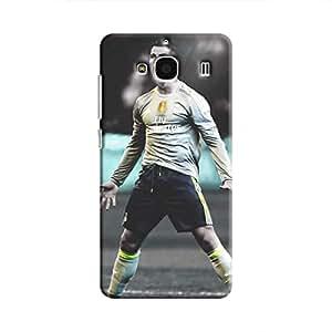 Cover It Up - Cristiano Green Monochrome Redmi 2 Prime Hard Case